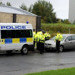 police road checks in shotts