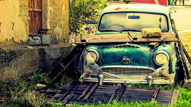 voiture pour destruction