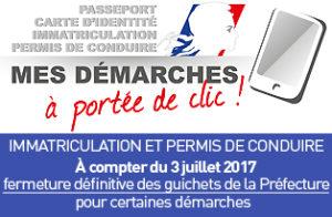 dématérialisation des demandes de titres dans le Calvados