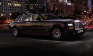 Une rolls, voiture de luxe par excellence