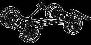 véhicule vendu à des fins de carrossage