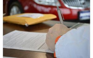 Opérations déclaratives Achat et revente d'un véhicule par un professionnel