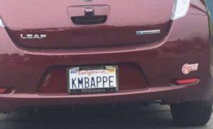 Plaque KMBAPPE
